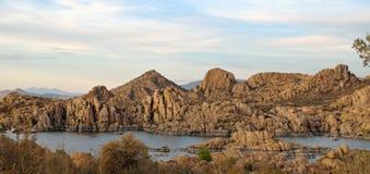 Λίμνη Watson σε Prescott, Αριζόνα Στοκ φωτογραφίες με δικαίωμα ελεύθερης χρήσης