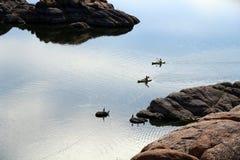 Λίμνη Watson, Prescott, Αριζόνα Στοκ Φωτογραφία