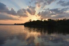 Λίμνη Weatherford στοκ φωτογραφία με δικαίωμα ελεύθερης χρήσης