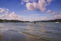 Λίμνη Windermere, άποψη από bownness--Windermere Στοκ φωτογραφίες με δικαίωμα ελεύθερης χρήσης