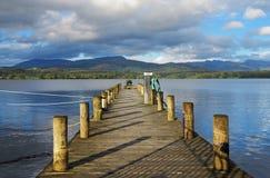Λίμνη Windermere σε Cumbria, Αγγλία Στοκ εικόνα με δικαίωμα ελεύθερης χρήσης