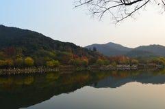 Λίμνη XiangHu στοκ εικόνα με δικαίωμα ελεύθερης χρήσης
