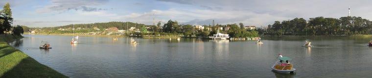 Λίμνη Xuan Huong Ho Στοκ Εικόνες