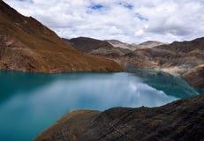 Λίμνη Yamdrok Στοκ Φωτογραφία