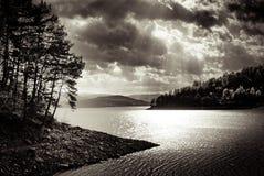 Λίμνη Zywieckie στοκ φωτογραφίες με δικαίωμα ελεύθερης χρήσης