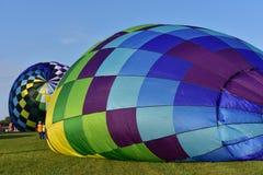 Λίνκολν, Ιλλινόις - ΗΠΑ - 25 Αυγούστου 2017: Έναρξη μπαλονιών αέρα Στοκ φωτογραφία με δικαίωμα ελεύθερης χρήσης