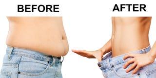 Λίπος, fatness, άτομο Στοκ Φωτογραφία