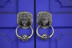 λαβές πορτών Στοκ εικόνες με δικαίωμα ελεύθερης χρήσης