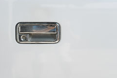 Λαβή πορτών αυτοκινήτων για το άνοιγμα του εξοπλισμού πορτών αυτοκινήτων του οχήματος Στοκ εικόνα με δικαίωμα ελεύθερης χρήσης