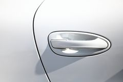 Λαβή πορτών αυτοκινήτων Στοκ εικόνα με δικαίωμα ελεύθερης χρήσης