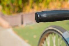 Λαβή του ποδηλάτου στο πάρκο Στοκ εικόνες με δικαίωμα ελεύθερης χρήσης