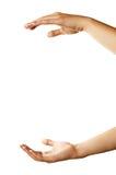 λαβή χεριών κάτι στοκ φωτογραφία με δικαίωμα ελεύθερης χρήσης