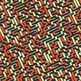 λαβύρινθος Διανυσματική απεικόνιση του λαβύρινθου Στοκ Φωτογραφία