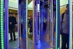 Λαβύρινθος καθρεφτών Στοκ φωτογραφία με δικαίωμα ελεύθερης χρήσης