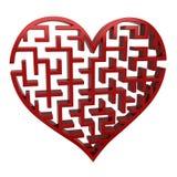Λαβύρινθος καρδιών απεικόνιση αποθεμάτων