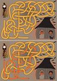 Λαβύρινθος μαγισσών Στοκ Εικόνα