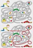 Λαβύρινθος μικρών παιδιών Στοκ Εικόνες