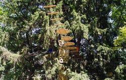 Λαβύρινθος σχοινιών Στοκ φωτογραφία με δικαίωμα ελεύθερης χρήσης
