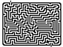 λαβύρινθος Διανυσματική απεικόνιση