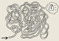 λαβύρινθος Στοκ εικόνα με δικαίωμα ελεύθερης χρήσης