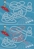 Λαβύρινθος Surfer Στοκ Εικόνες