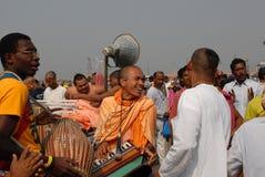 Λαγοί Krishna Rama λαγών Στοκ φωτογραφία με δικαίωμα ελεύθερης χρήσης