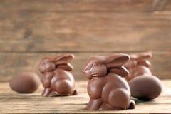 Λαγουδάκια Πάσχας σοκολάτας στοκ εικόνες