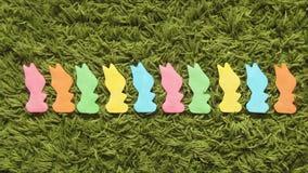 Λαγουδάκι κουνελιών ή κίνηση στάσεων εκμάθησης αρίθμησης λαγών φιλμ μικρού μήκους