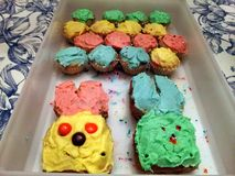 Λαγουδάκια κέικ στοκ φωτογραφία με δικαίωμα ελεύθερης χρήσης