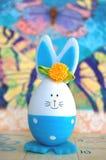 Λαγουδάκι αυγών Πάσχας Στοκ Φωτογραφίες