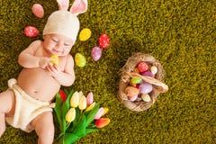 Λαγουδάκι Πάσχας μωρών Στοκ φωτογραφίες με δικαίωμα ελεύθερης χρήσης