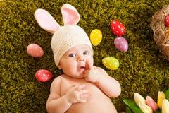 Λαγουδάκι Πάσχας μωρών Στοκ Εικόνες