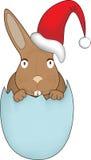 Λαγουδάκι Πάσχας Χριστουγέννων Στοκ Εικόνες