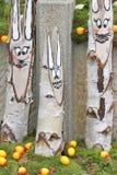 Λαγουδάκι χαμόγελου Πάσχα στοκ εικόνες με δικαίωμα ελεύθερης χρήσης