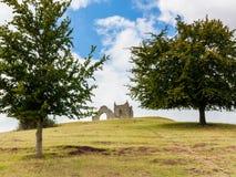 Λαγούμι Mump Somerset Αγγλία Στοκ εικόνα με δικαίωμα ελεύθερης χρήσης