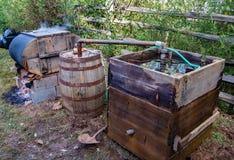 Λαθραίο ποτό κομητειών του Franklin ακόμα στοκ φωτογραφίες