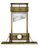 Λαιμητόμος (μπροστινή όψη) Στοκ εικόνα με δικαίωμα ελεύθερης χρήσης
