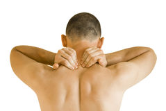 λαιμός πόνου Στοκ Εικόνες