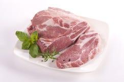 Λαιμός χοιρινού κρέατος στοκ εικόνες με δικαίωμα ελεύθερης χρήσης