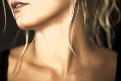 λαιμός Στοκ εικόνα με δικαίωμα ελεύθερης χρήσης
