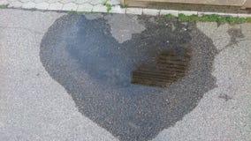 Λακκούβα καρδιών Στοκ φωτογραφία με δικαίωμα ελεύθερης χρήσης