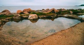 Λακκούβα στη θάλασσα στοκ φωτογραφία
