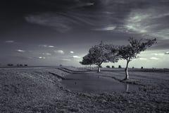 λακκούβα Στοκ φωτογραφία με δικαίωμα ελεύθερης χρήσης