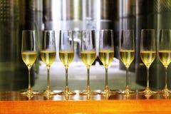 Λαμπιρίζοντας κρασί Στοκ Φωτογραφία