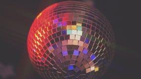 Λαμπιρίζοντας σφαίρα disco απόθεμα βίντεο
