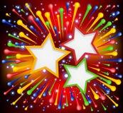 Λαμπρά ανασκόπηση χρωμάτων έκρηξης. Στοκ φωτογραφία με δικαίωμα ελεύθερης χρήσης
