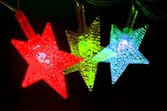 Λαμπρά διακοσμητικά αστέρια Στοκ φωτογραφία με δικαίωμα ελεύθερης χρήσης