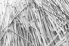 Λαμπρά καρφιά σιδήρου Στοκ εικόνες με δικαίωμα ελεύθερης χρήσης
