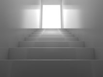 λαμπρά σκαλοπάτια διανυσματική απεικόνιση