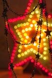Λαμπρά χρυσά αστέρια Στοκ εικόνες με δικαίωμα ελεύθερης χρήσης